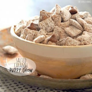 Salted Caramel Puppy Chow.