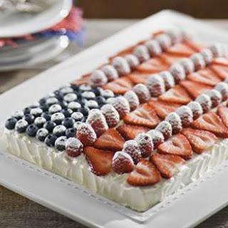 EatingWell Flag Cake