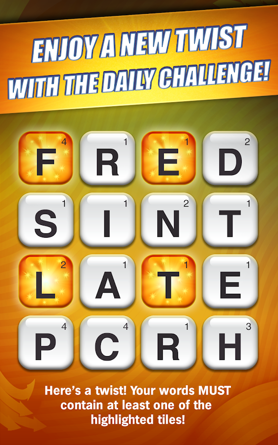 Scramble: The Free Word Search - screenshot