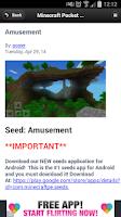 Screenshot of Seeds - Minecraft PE
