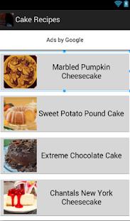 烘焙蛋糕食譜