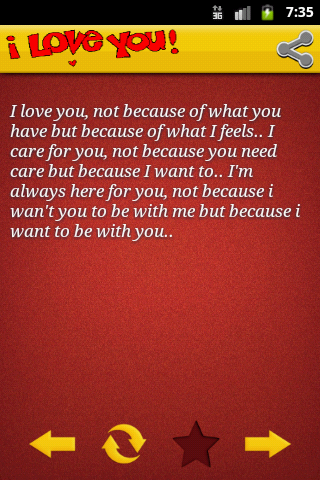 i love you quotes - screenshot