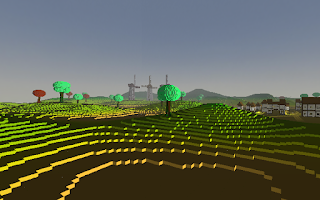 Screenshot of Cubeventure