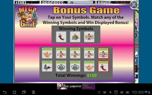 Mega Genie Slot Machine - screenshot thumbnail