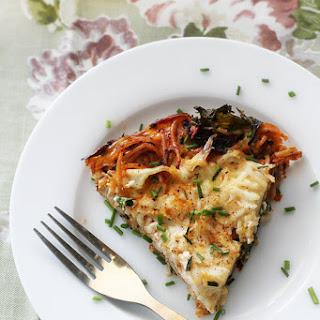 Gluten-Free Pasta Frittata with Kale