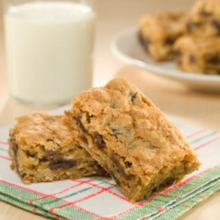 Oatmeal-raisin Snack Bars.