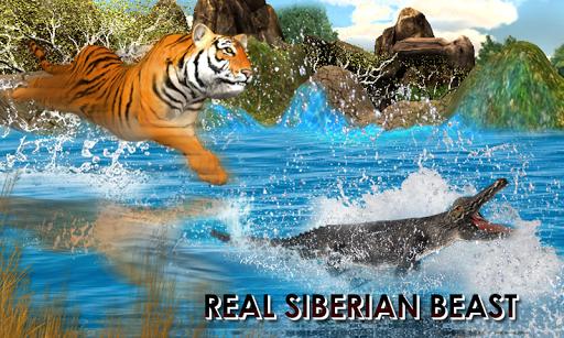 야생 호랑이 정글 사냥 3D