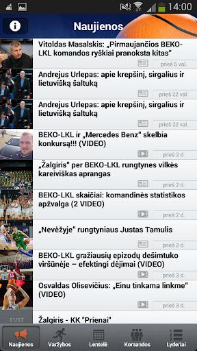 BEKO LKL Live