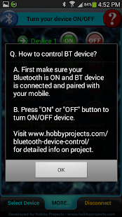 Bluetooth 2 Relays Control Pro- screenshot thumbnail