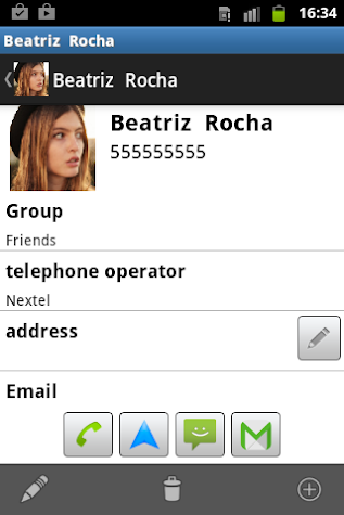 Phonebook Screenshot