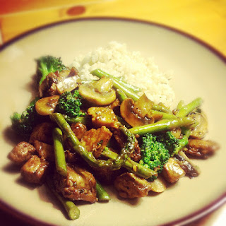 Tempeh with Broccoli/Beef with Broccoli