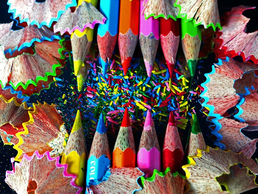 Colour Vs colour by Asif Bora - Artistic Objects Education Objects (  )