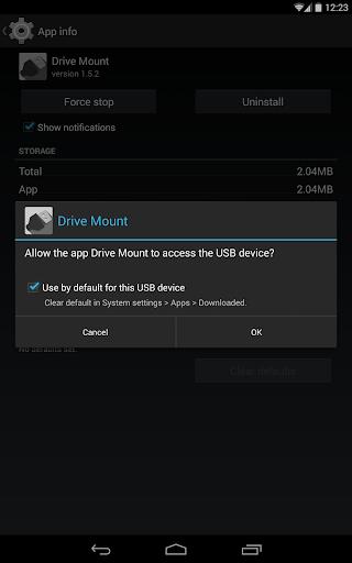 Drive Mount