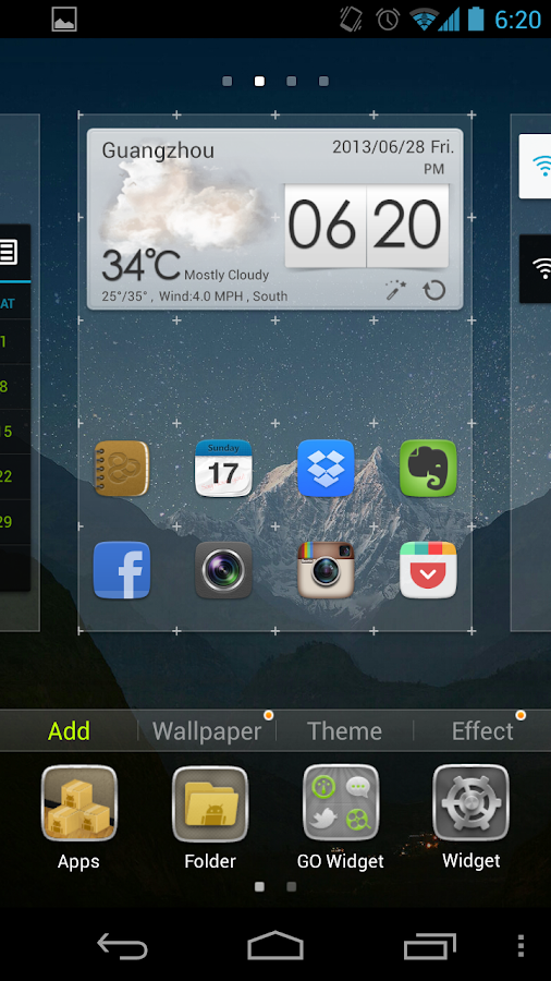 GO Launcher EX - screenshot