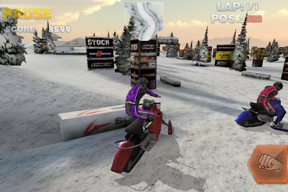 لعبة ركوب الدراجات الثلجية Snow wYOffMNW1e912oXC_zde