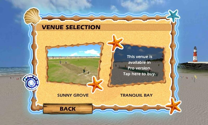 Beach Cricket - screenshot