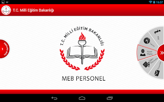 Screenshot of MEB Personel