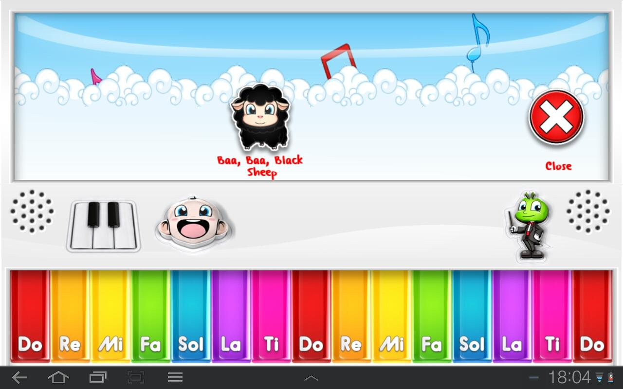 My Little Piano Lite - screenshot
