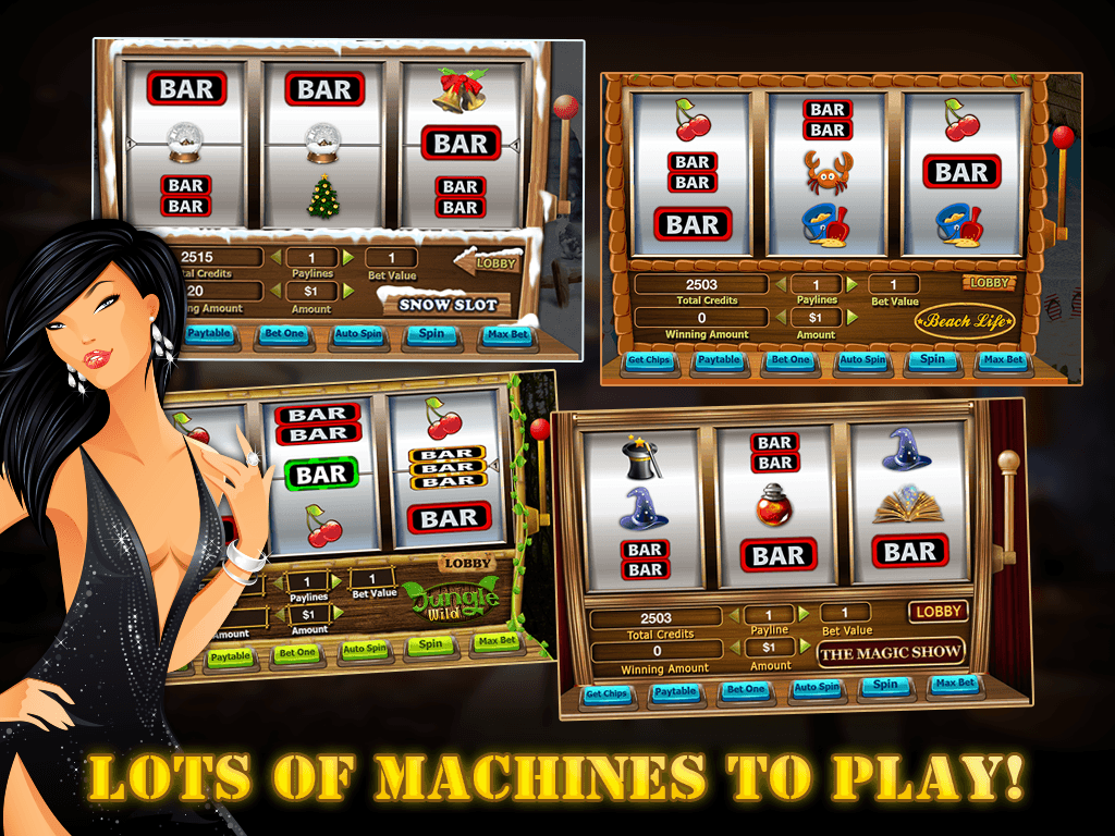 Real slot machine apps for android
