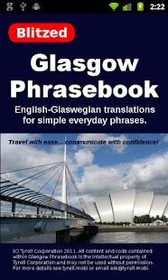 Glasgow Phrasebook- screenshot thumbnail