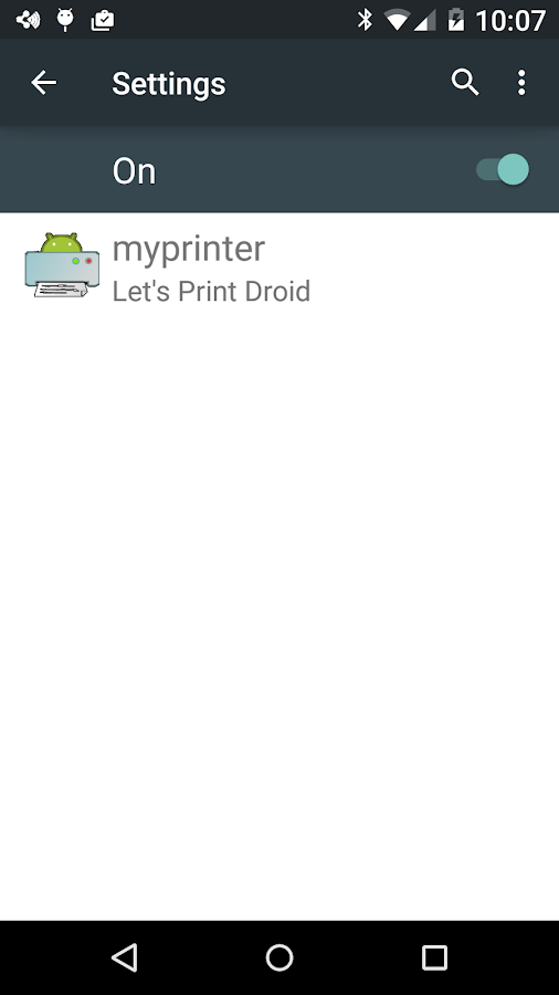 Let's Print Droid- screenshot