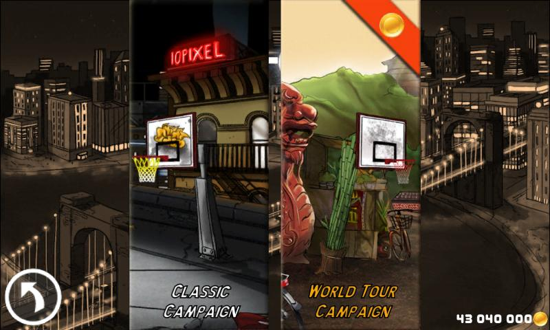 Tip-Off Basketball - screenshot
