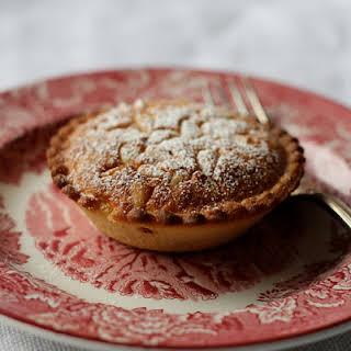 Almond Cream Pie with Pine Nuts.