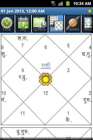 Horoscope Hindi (Supersoft Prophet)  screenshots 2