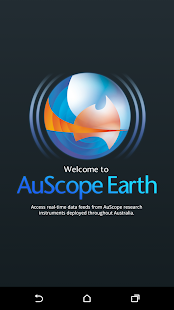 AuScope Earth- screenshot thumbnail