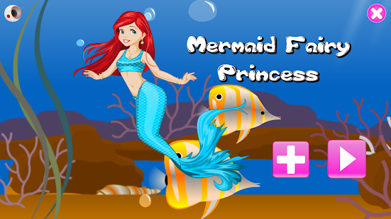 Girl Mermaid Princess