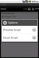 Screenshot of Scripts Expert