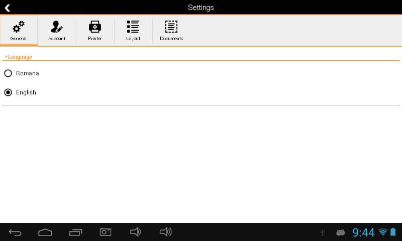 Sedona POS- screenshot