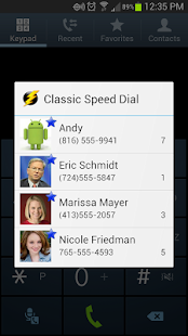 Classic Speed Dial Plus - screenshot thumbnail