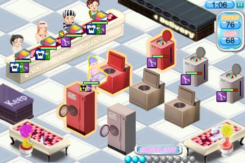 Laundry Tycoon Lite - screenshot