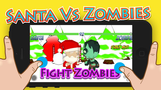 Santa vs Zombies Fight War 3D