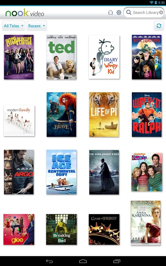 NOOK Video – Watch Movies & TV - screenshot