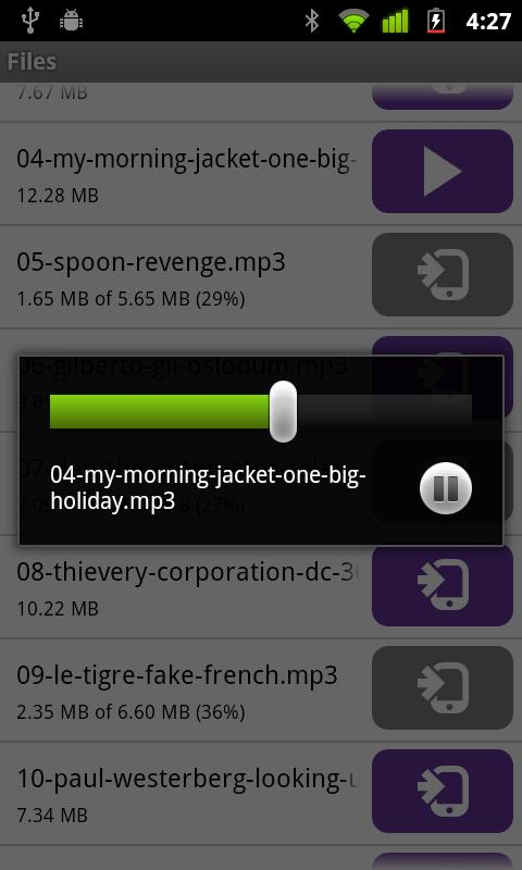 BitTorrent® Remote - screenshot