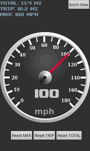 GPSスピードメーター