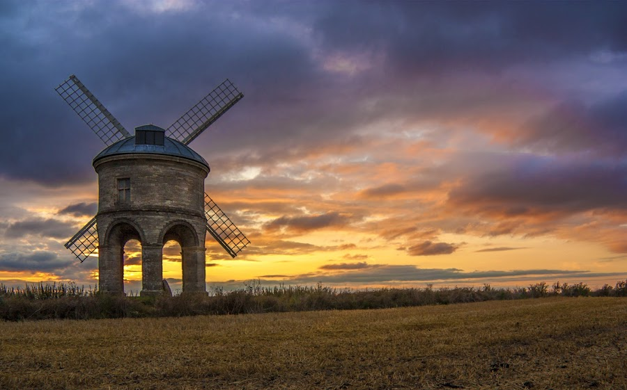 Chesterton Windmill by Ian Flear - Buildings & Architecture Public & Historical ( , relax, tranquil, relaxing, tranquility )