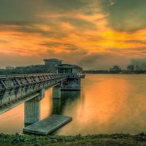 Putrajaya sunsets by Mohammad Hisham Abd Zamhuri - Landscapes Sunsets & Sunrises (  )