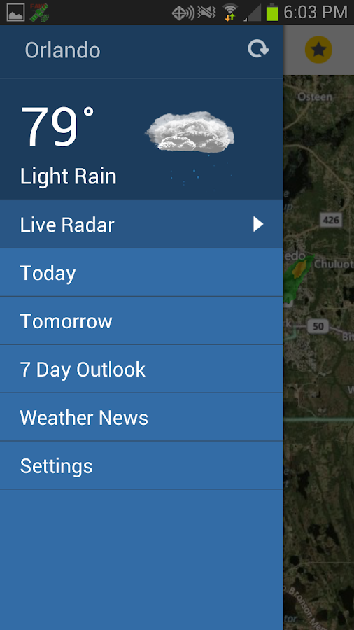 WKMG Local 6 Storm Tracking- screenshot