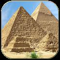 Egyptian pyramids icon