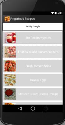 Finger Food - screenshot