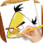 Download Android Game Learn to Draw Angry Birds for Samsung