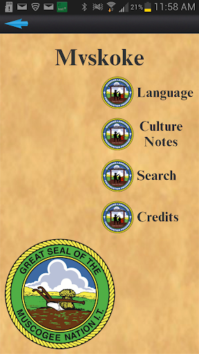 Mvskoke Language