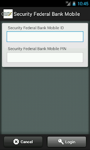 Security Federal Bank Mobile - screenshot thumbnail
