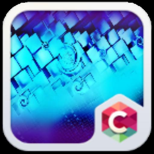 Purpletech C Launcher Theme 個人化 App LOGO-APP試玩
