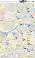 Screenshot of Hotspotfinder Berlin