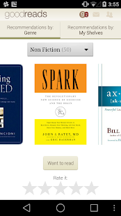 Goodreads - screenshot thumbnail