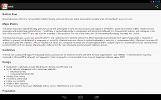 Screenshot of Journal Club for Android